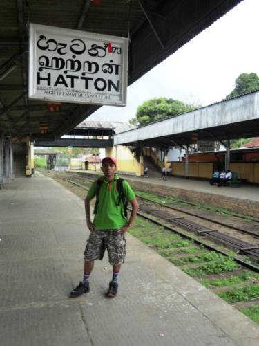 Managed to reach Hatton just in time for the Colombo bound train