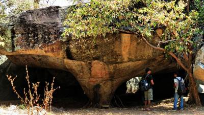 The Mushroom shaped cave