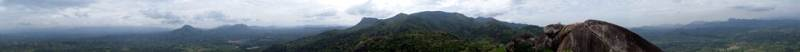 360 degree view of Monaragala