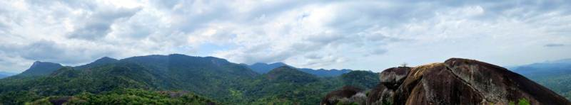View towards Maragalakanda forest reserve