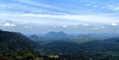 Towards monaragala town