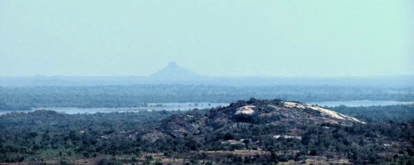 Barons cap or Thoppigala seen far away