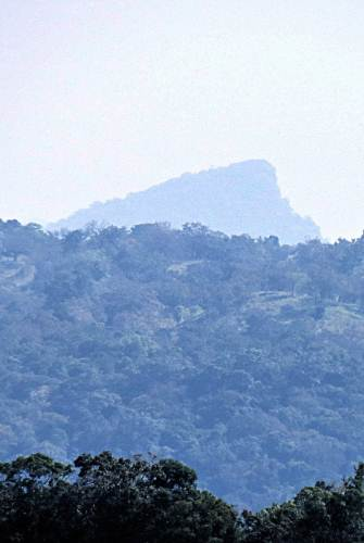 Iginiyagala mountain seen far away