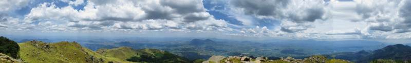 Panorama from the top of Maragala