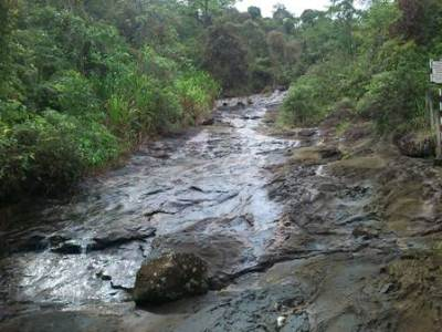 Streams flowing to Kuruganga