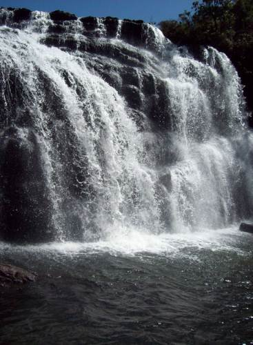 Upper section of the falls