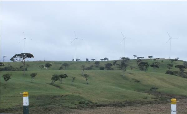 Wind Power station in Ambewela