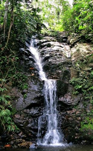 Lower cascade of Hathbili falls