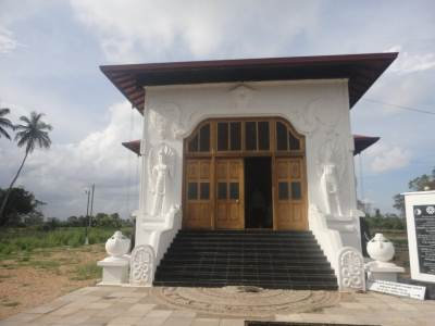Recently built Budu Medura