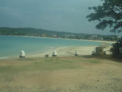 Trinco Beach near the main bus stand
