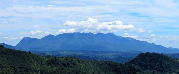 Maragala range was seen clearly while on the way to Peesa falls