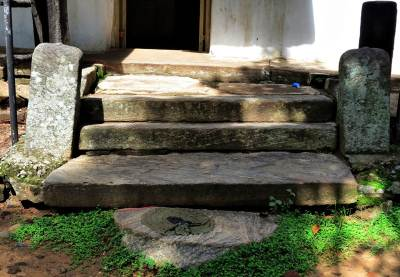 steps at the entrance