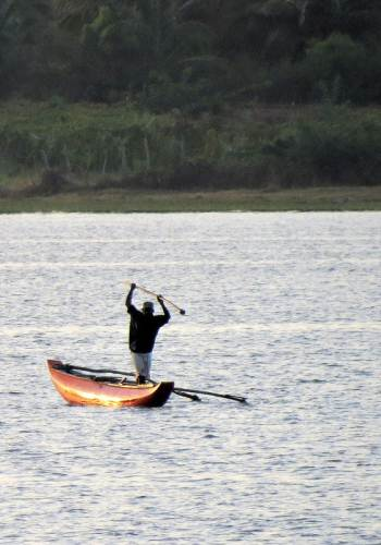 fishing at Irakkamam lake