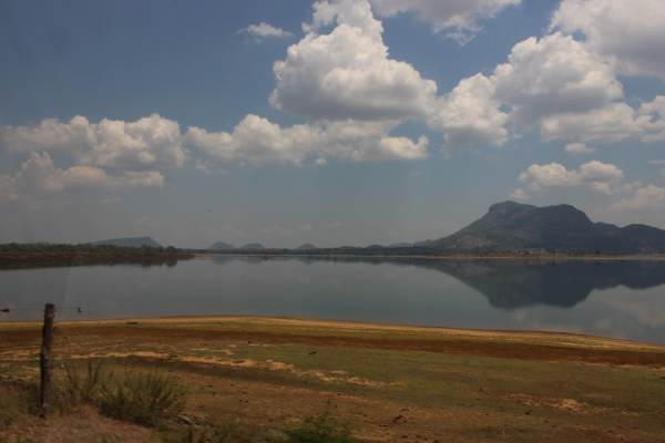 Rathkinda water reservoir – must be one of the few places those days water was left this much