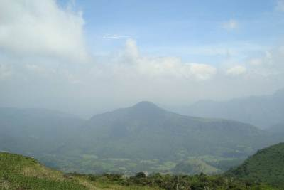 A picturesque view of Maningala Mountain from a distance