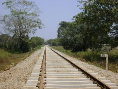 railway line is now being constructed beyond Vavuniya