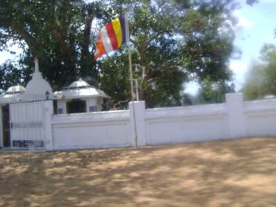 Buddhist temple built in Kilinochchi