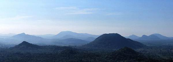 Pallan hela as seen from Iginiyagala mountain