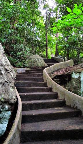 steps towards the kuti