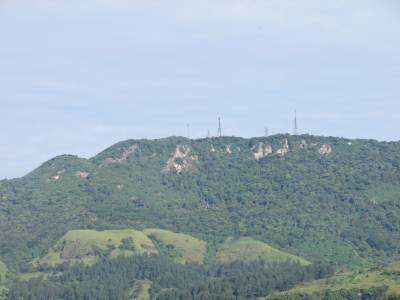 Transmission towers of Karagahathenna