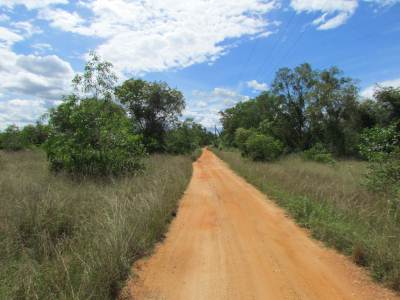 Open dirt roads towards Inginimitiya