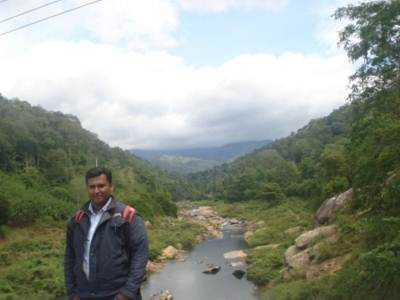 AT HULU GANGA(KANDY-MAHIYANGANA ROAD)