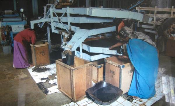 Sifting room of the original factory - This is where Kenmare restaurant is located now (Courtesy: Heritance Tea Factory)