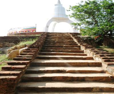 New Stupa was built on old one's base