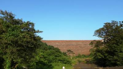 Dam of Samanalawewa reservoir