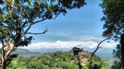 View of Kuragala from Hituwangala