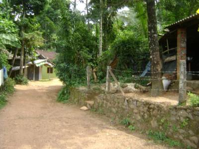 The entrance to the Hatanpola village