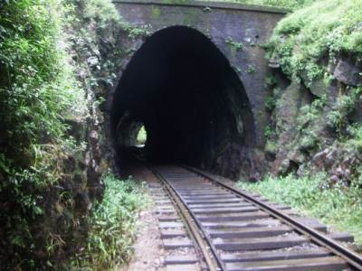Tunnel 20 is smaller (19 meters long)