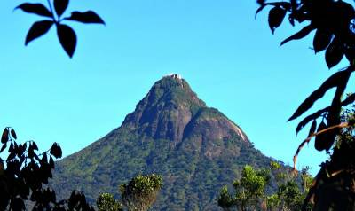 first clear view of adams peak
