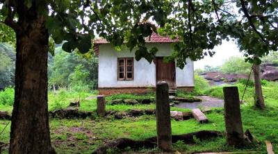 remnants of a devalaya