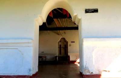Entrance to Kattaha maduwa