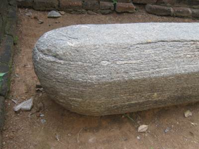 Tip of Yupa stone