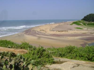 The Walawe river mouth