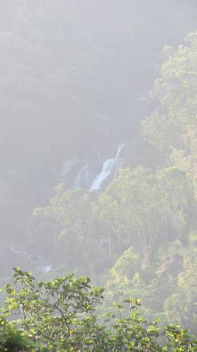 Galdola waterfall from Rakwana town