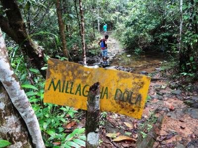 Maliga dola, end of the decent-size road