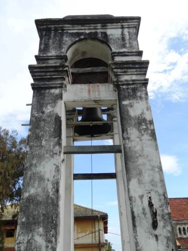 Bell tower, might have belonged to the Dutch Church