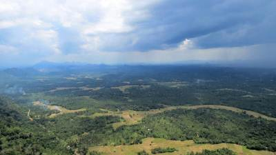Kurunegala — birds eye view