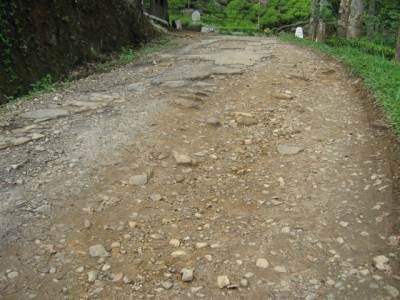 "The road ""condition"""