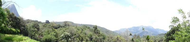 Another panoramic view from down hill