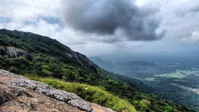 it was gloomy towards kurunegala