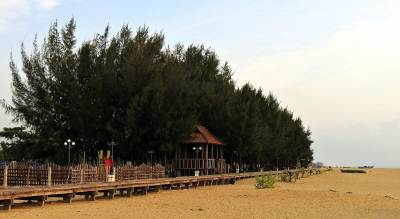 well maintained kalladi beach