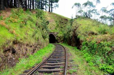 Tunnel before Idalgashinna station