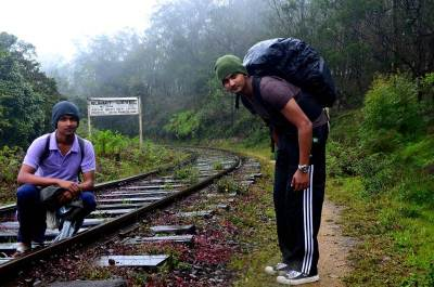 Sri Lanka's highest railway point. :-)