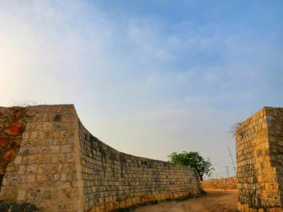 Jaffna fort under renovation of Dutch aids