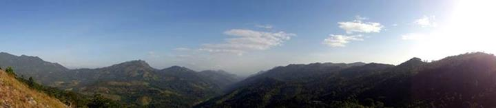 right side mountain range is madolsima area