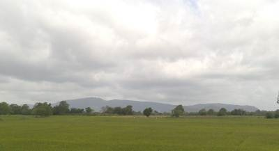 Galgiriya Mountain. The image I have taken on my way by train.